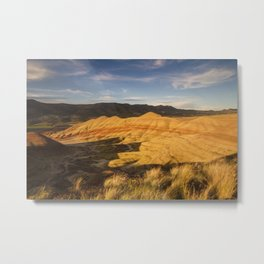 Return to the Painted Hills Metal Print