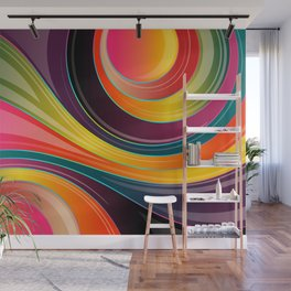 Lines Wall Mural