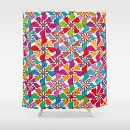 Gipsy Helix Shower Curtain
