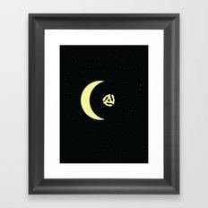 Revolution in Space Framed Art Print