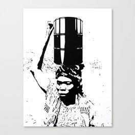 The Black Woman's Burden Canvas Print