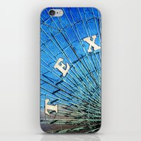 texas iPhone & iPod Skins featuring Texas by Slight Clutter