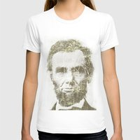 lincoln T-shirts featuring Abraham Lincoln by Sney1