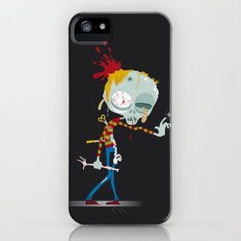 Hugo, the Zombi iPhone Case
