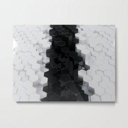 Clean & Tidy Metal Print