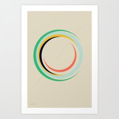 Future Globes 004 — Matthew Korbel-Bowers Art Print