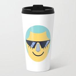 Franky Emoji Design Travel Mug