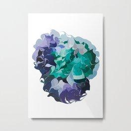 Analogous Blue hue - two Metal Print