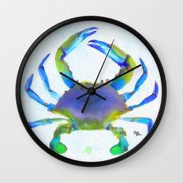 Colorful Crab Wall Clock