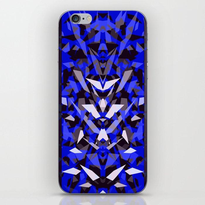 Predator - Blue iPhone Skin