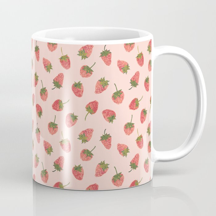 Sweet & Juicy Strawberries Coffee Mug