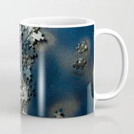 Puzzles on blue Coffee Mug