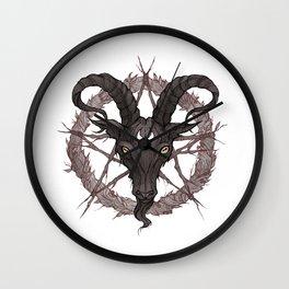Black Phillip Light Wall Clock
