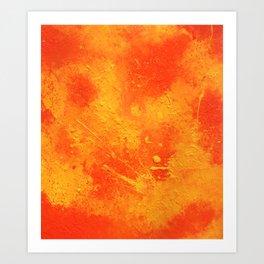 Abstract painting print Art Print