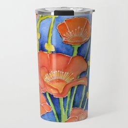 Pardon my Poppies Travel Mug