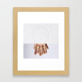 Octofingers Framed Art Print
