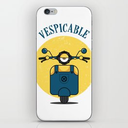 VESPICABLE iPhone Skin