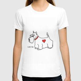 I love you - Scottie T-shirt