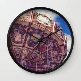 Merry - Go - Round Wall Clock