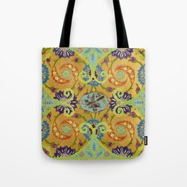World Quilt - Panel #1 Tote Bag