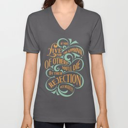 If You Live By People Expectation Unisex V-Neck