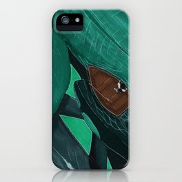 Whale Watcher iPhone Case