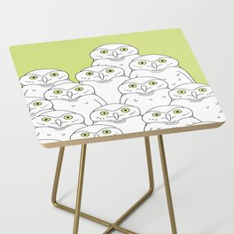 Group of Owls Side Table