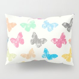 Colorful butterflies Pillow Sham