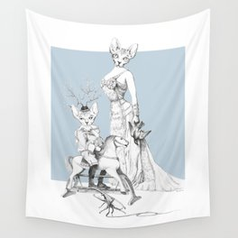 Weird & Wonderful: Bald and Beautiful Wall Tapestry