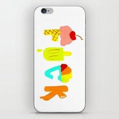 Swear Cream iPhone & iPod Skin