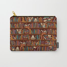 Bookshelf Carry-All Pouch