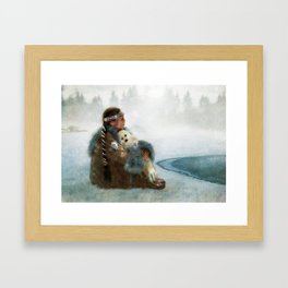 Sing You a Lullabye Framed Art Print