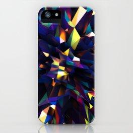 Low Iris Poly iPhone Case