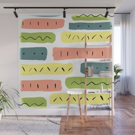 Pastels Wall Mural