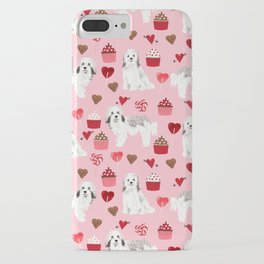 Havanese valentines day cupcakes love hearts dog breed gifts for dog lover pure breed must haves iPhone Case