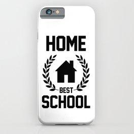 Homeschool iPhone Case