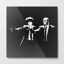 Spike Jet Knock Out - Cowboy Bebop Metal Print