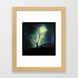 Dark Sun Framed Art Print