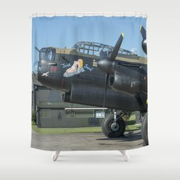 Just Jane - II Shower Curtain