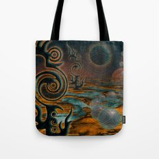 The Black Moon Tote Bag
