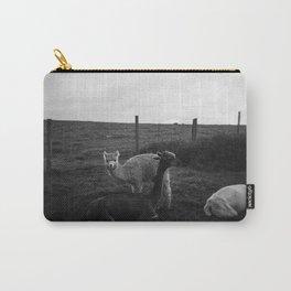Alpaca/llama paddock Carry-All Pouch