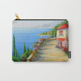 The town by the sea Carry-All Pouch