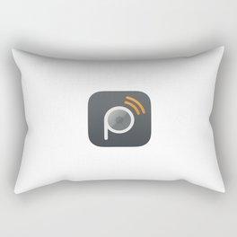 Pressgram Icon Rectangular Pillow