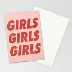 Girls Girls Girls II Stationery Cards