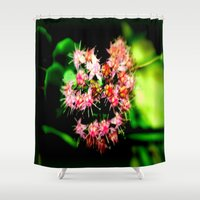cacti Shower Curtains featuring Cacti by Chris' Landscape Images & Designs