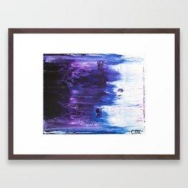 Motion Blues #5 Framed Art Print