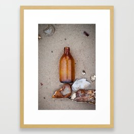 Dead Horse Bottle 2 Framed Art Print