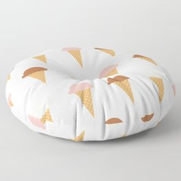 Multiple Ice-creams Floor Pillow