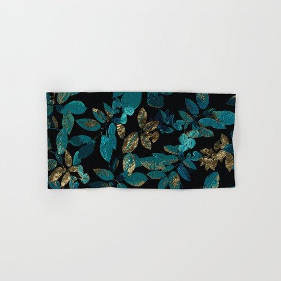 Seamless Blossom Pattern Hand & Bath Towel