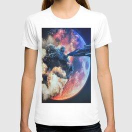 moon explosion T-shirt